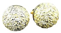 Other Mens,Ladies,Yellow,Gold,Finish,Diamond,Stud,Earrings