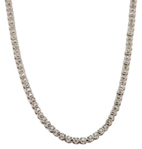 Other Platinum 2ct Diamond Tennis Necklace 16.5 Long