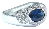 Fine,Designer,Gem,Sapphire,Diamond,Jewelry,Ring,2.37ct