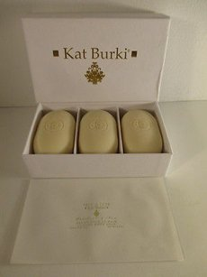 Kat Burki Palchouli Moss Luxury Boady Soap Set Of Three