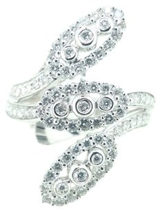Other Ladies 18k White Gold 1.27ct Diamond Ring