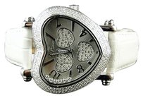 Other Ladies Jojojoe Rodeo White Jh2 80 Diamonds Watch .75c