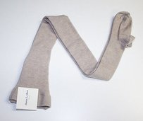 Maria La Rosa Beige Cashmere Silk Knit Tights Stockings Os Chic