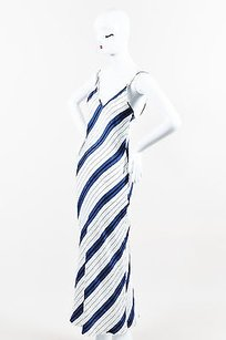 Multi-Color Maxi Dress by Protagonist White Blue Black