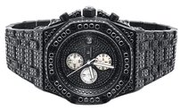 Other Mens Jewelry Unlimited Jojino Joe Rodeo Black Simulated Diamond Watch 43mm