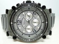 Mens Jojojojinojoe Rodeo Black Diamond Watch 2.25 Ct