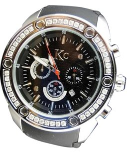 Mens Techno Com Kc Joe Rodeo Master Genuine Wg Clear Wwbl Diamond Watch 1.65 Ct