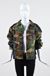 Antonio Marras Camouflage And Military Jacket