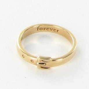 Other Monica Rich Kosann Charm Poesy Ring Buckle Forever 18k Rose Gold