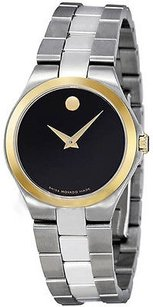 Movado Stainless Steel Ladies Watch 0606560
