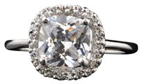Other New 3.40ct Cushion Simulated Diamond 14K Solid Gold