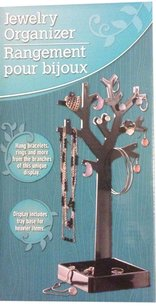 Other New Black jewelry tree organizer for earrings bracelets necklaces