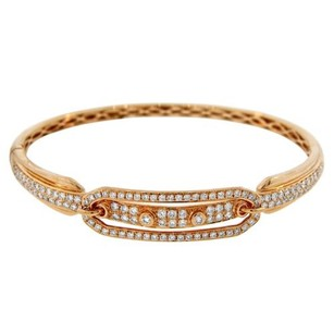 Other Nwtglk 18k Yellow Gold 1.82ct Diamond Embellished Bangle