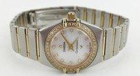 Other Omega Womens 123.25.24.60.55.007 Constellation 09 Diamond Bezel Mo Max061392