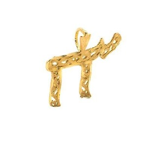 Pendant Kt Yellow Gold Chi Style 0.8 Grams Appx 21 Mm Long