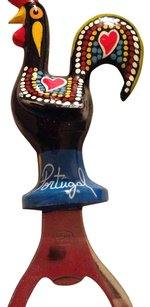Portugal Hand Painted Rooster Bottle Opener