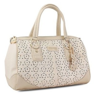 Miadora Connie Cream Satchel in White