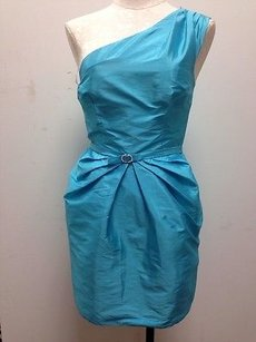 Other short dress Blues Alexia Admor Bright Pleated One Aqua Cocktail on Tradesy