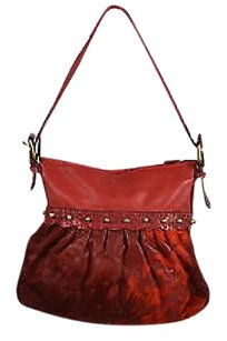 Other Falto A Mano By Carlos Falchi Womens Textured Handbag Shoulder Bag