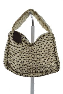 Other Marico Furla Womens Woven Textile Casual Shoulder Bag