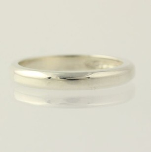 Other Silver Band Ring - Sterling Silver 925 Womens Polished Finish