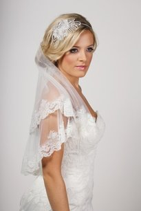 Soft Tulle French Lace Veil