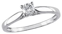 14k White Gold 14 Ct Diamond Tw Solitaire Ring Gh I2i3