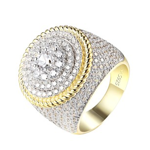 Other Solitaire Cluster Set Ring 14k Gold 925 Silver Custom Iced Out