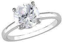 Other 10k White Gold 2 38 Ct Tgw White Sapphire Solitaire Ring