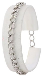 Starter Charm Bracelet - Sterling Silver 925 Curb Chain 7.25 Spring Ring Clasp