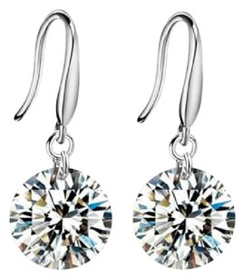 Other Sterling Silver .925 Stamped Drop Earrings