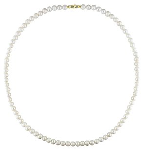 Other Amour 10k 5-6mm White Freshwater Pearl Necklace 18 Inch