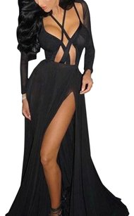Other Strappy Mesh Date Dress