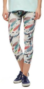 Stretchy Comfy breathable ARTSY PRINT PAINT Leggings