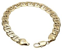 Other Stunning 18k Gold 8mm, Mariner Bracelet #0905