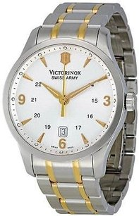 Swiss Army Victorinox Alliance Two-tone Mens Watch 241477