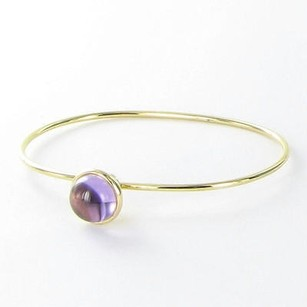 Syna Baubles Bracelet Stacking Amethyst 18k Yellow Gold