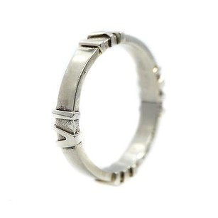 Other Tiffany Co Original Atlas Band Sterling Silver Grams Roman Numerals Ring