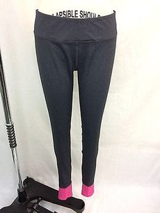 Other Tonic Gray Pink Ankle Yoga Pants