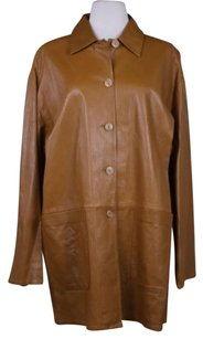 Other Guy Fulop Womens Trench Coat Outer Tan Jacket