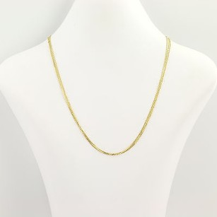 Other Triple Chain Necklace 34 - 18 - 14k Yellow Gold Modified Cable Chains