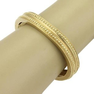 Vahe Naltchayan 18k Gold Beaded Wave Bangle Bracelet