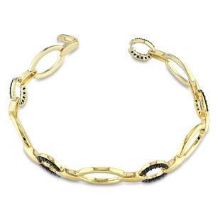 Other Versace 19.69 Abbigliamento Sportivo 18k Gold Covered Silver Spinel Bracelet
