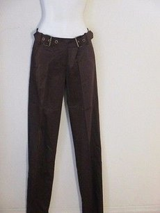 Other Barbara Bui Initials Buckle Wide Leg Pants