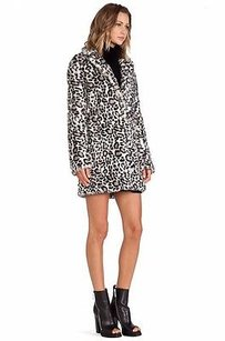 PAM & GELA Faux Fur Leopard Coat P 190959f Multi-Color Jacket