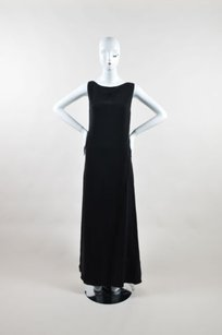 Black Maxi Dress by Pamella Roland Silk