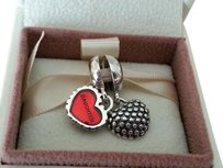 PANDORA Authentic Pandora Mother and Daughter Piece of my heart charm
