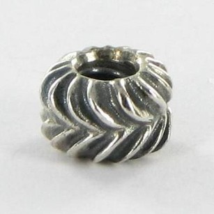 PANDORA Pandora 790515 Charm Bead Making Waves Sterling Silver Retired
