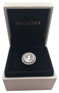 PANDORA Pandora brilliant legacy clear ring size 8.5. Other sizes available