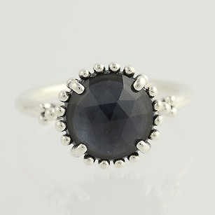 PANDORA Pandora Ring - Sterling Silver Blue Crystal Midnight Star 190910nbc